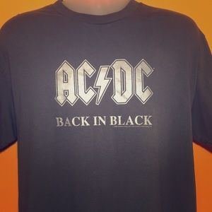 AC/DC 2006 Back In Black Band Tee